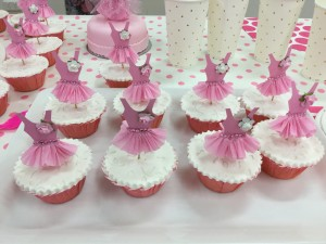 Beautiful Ballerina Cupcakes