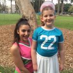 Charlee Cheerleader Party