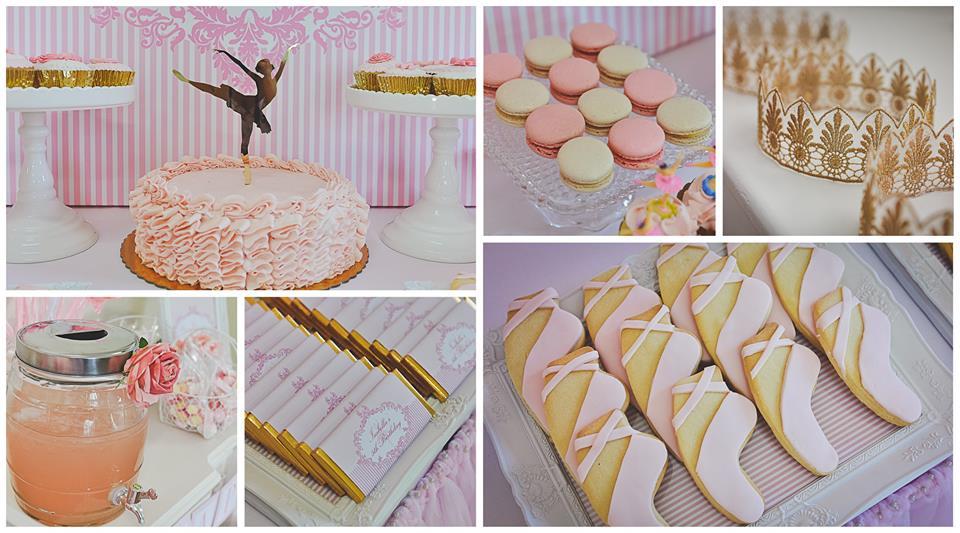 Homemade Ballerina Party Food items