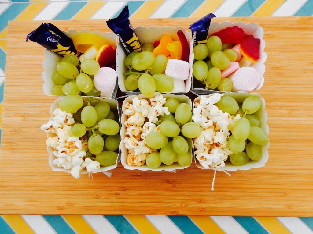 Active kids party food
