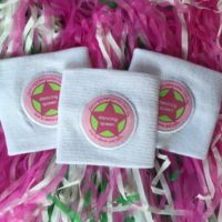 DQ White Wristbands Merchandise