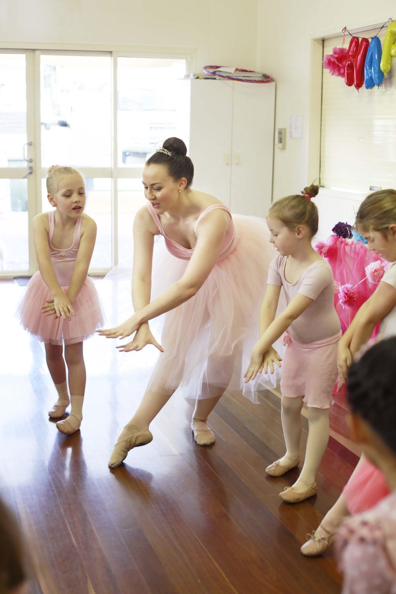 Kid's Ballerina Party