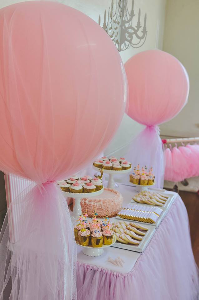 Kids Ballerina Party Food