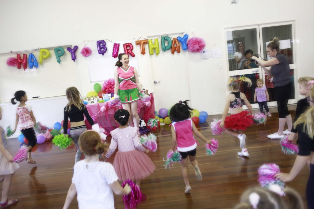 Cheerleading Kids Parties