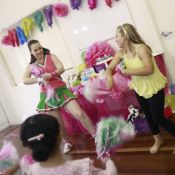 Kids Cheerleader Party
